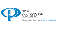 Logo Ordre des Podiatres