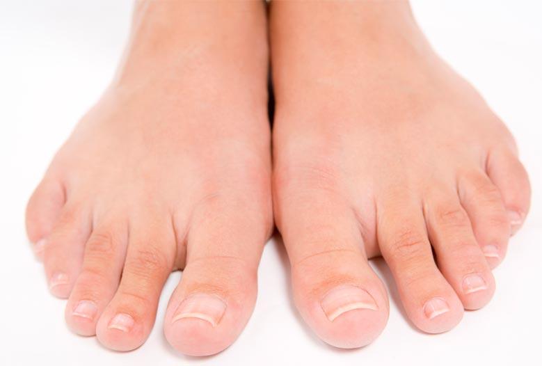 Soins des ongles de pied